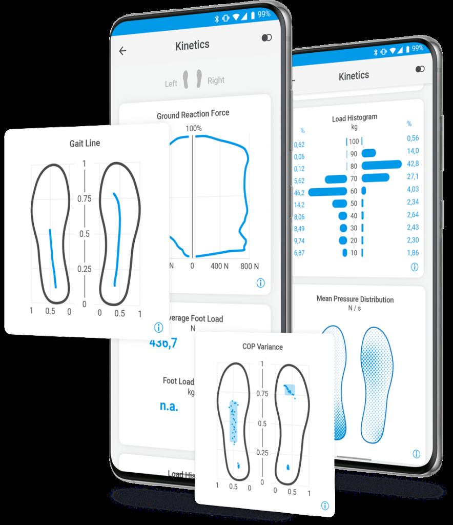 physio app gait analysis